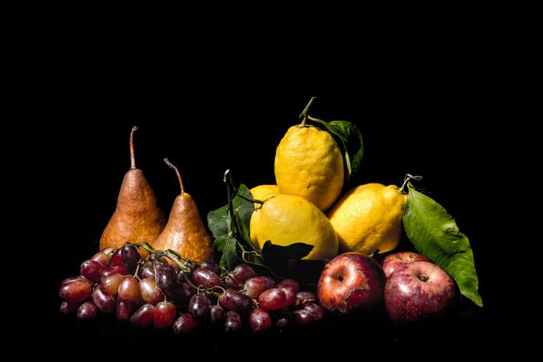 Caravaggio Composizione Frutta